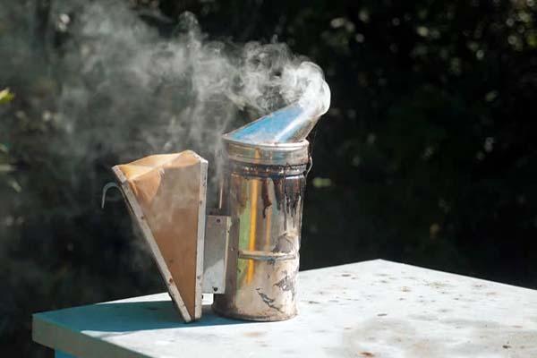 как разжечь дымарь